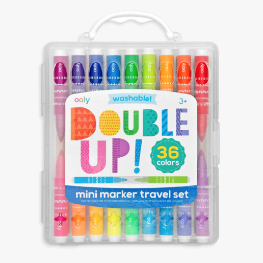 Ooly Double Up mini markers traveler