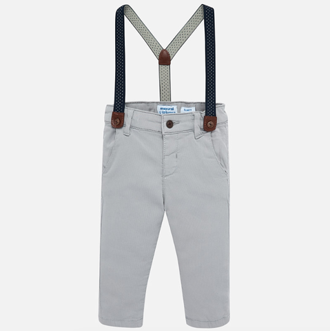 Mayoral Pants with Suspenders