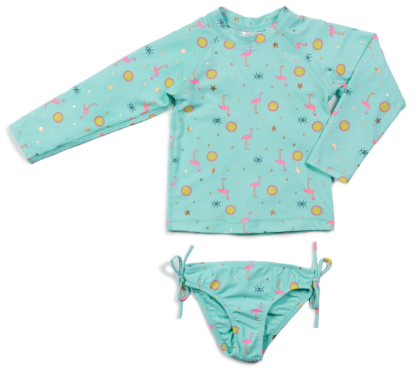 Egg Kaitlyn Two Piece Aqua