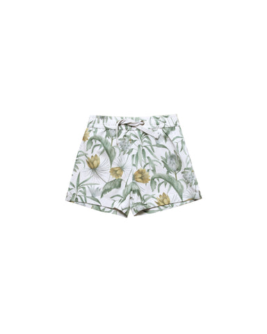 Rylee and Cru Tropical swim trunk