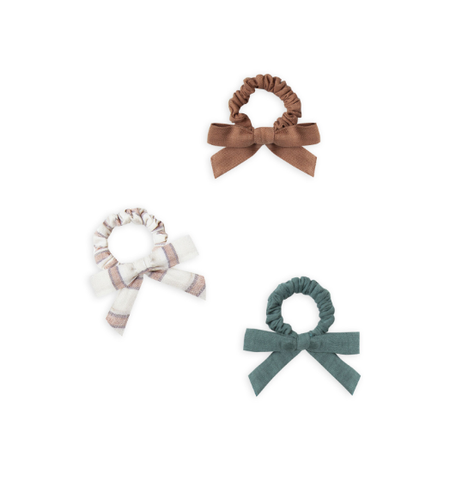 Rylee and Cru Little Bow Scrunchie Set (Assorted)
