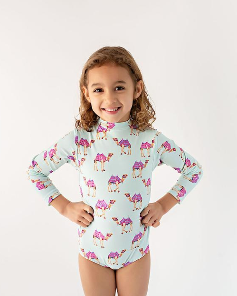 Gully Kids Riley One Piece Mint Camel