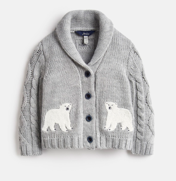 Joules Polar bear Cardigan