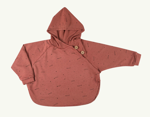 Red Caribou Poncho