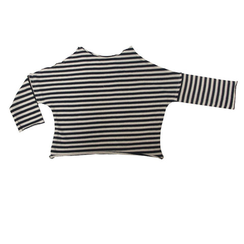 GGN Navy Stripe Jersey Pullover Tee