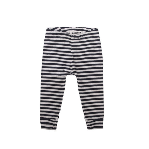 GGN Navy Stripe Jersey Pencil Pant