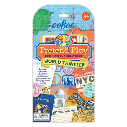 Eeboo World Traveler Pretend Play
