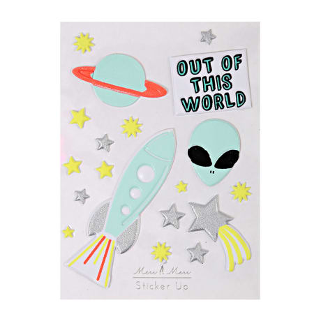 Meri Meri Out of this World Stickers