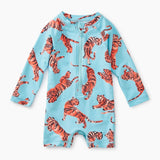 Tea Collection Ptd Baby Shortie Rash GuardTiger