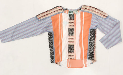 Haute Hits Mix Media Boxy Top