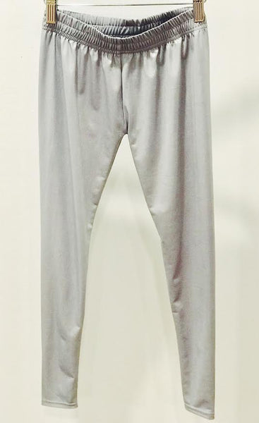 HA Metallic Leggings - Silver