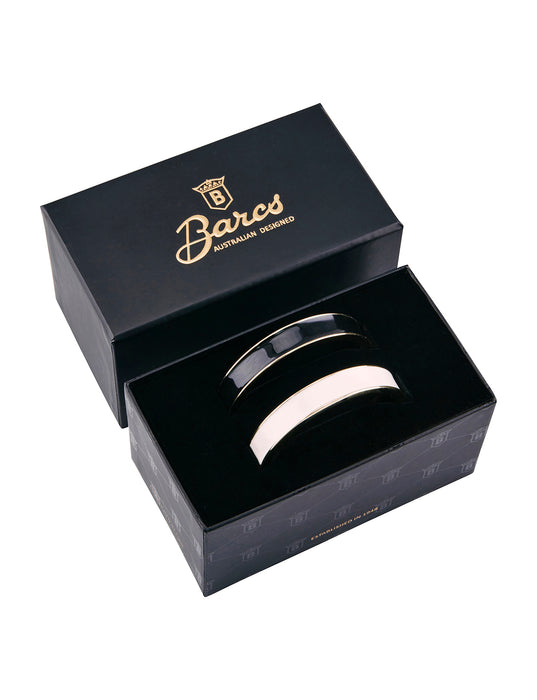 Barcs - Essential Enamel Twin Bangle Set