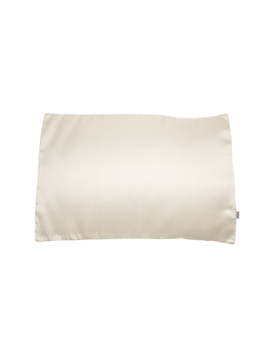 Eden Australia Silky Satin Pillowcase - White