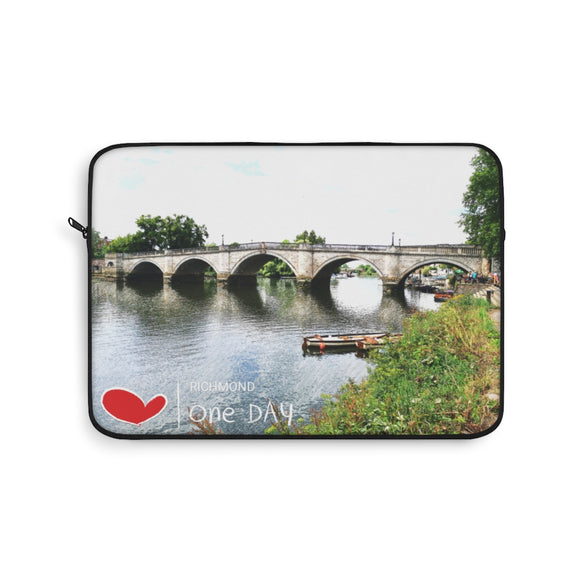 I Love Richmond Laptop Sleeve