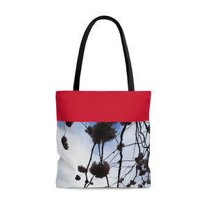 Top Red Tote Bag