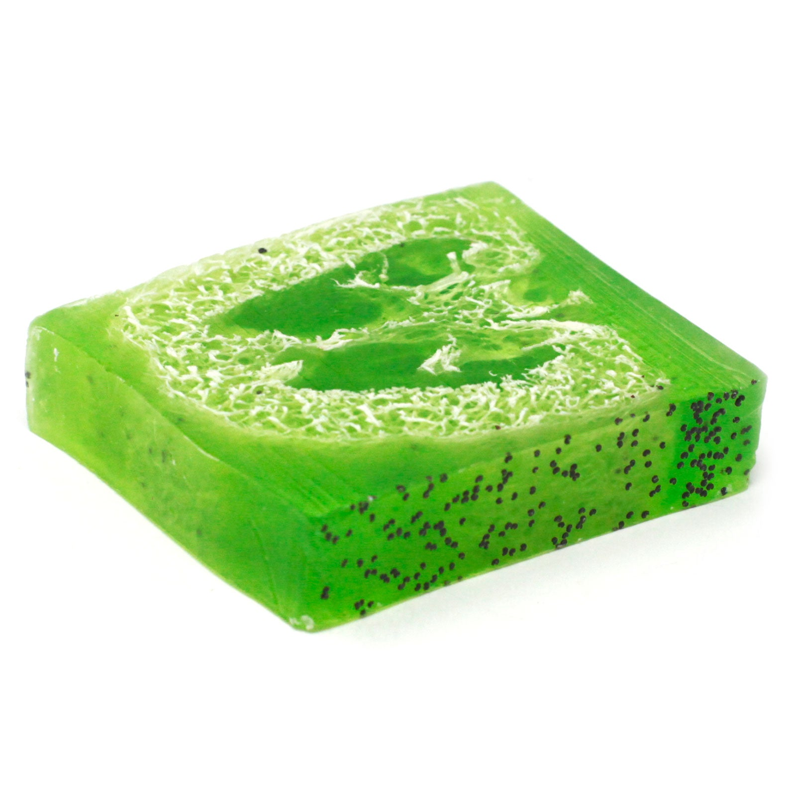 Loofah Soap Loaf - Peppermint & Herb Scrub