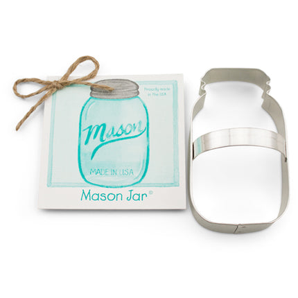Ann Clark Mason Jar Cookie Cutter