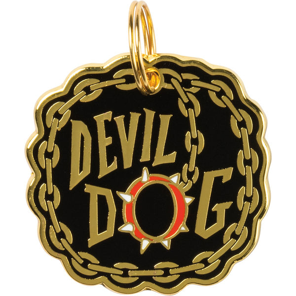 Collar Charm - Devil Dog
