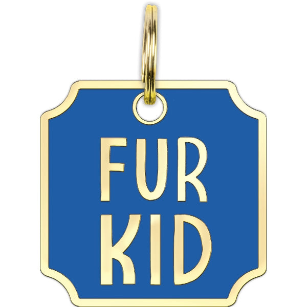 Collar Charm - Fur Kid
