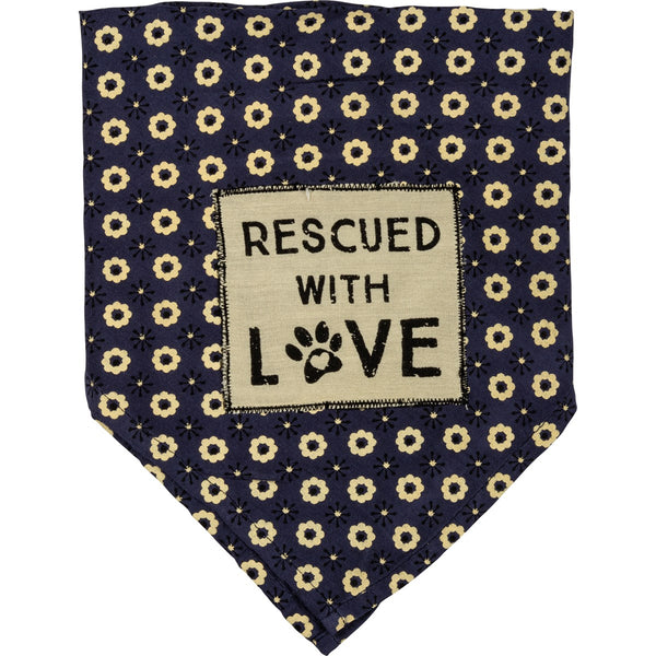Pet Bandana - Rescued with Love