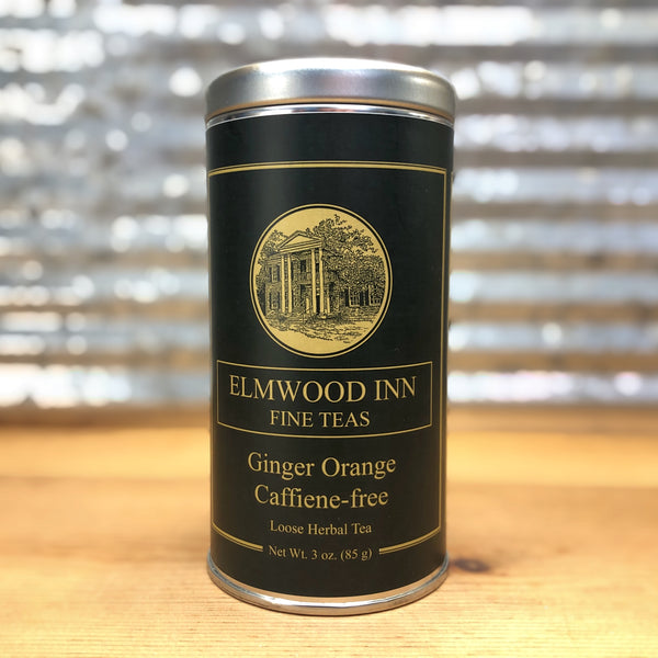 Elmwood Inn Fine Tea - Ginger Orange - Herbal Caffeine Free