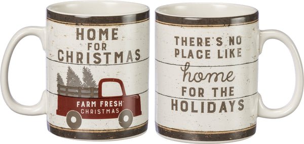 Farm Fresh Christmas Mug