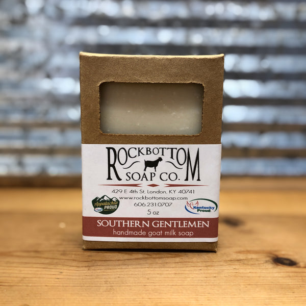 Rock Bottom Southern Gentlemen Goat Milk Soap