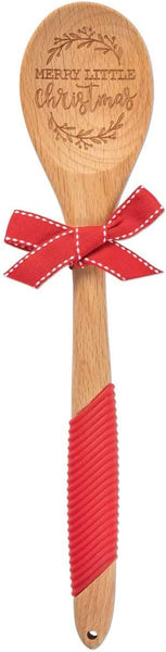 Merry Little Christmas Wooden Spoon