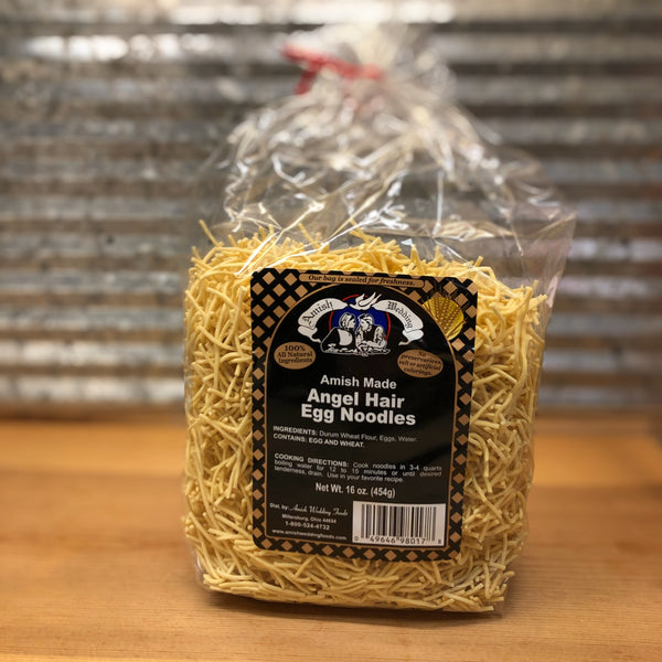Amish Wedding Angel Hair Egg Noodles