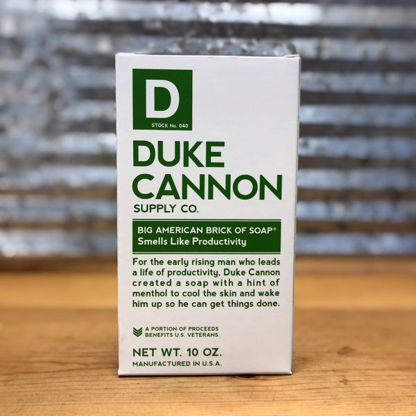 Duke Cannon Smells Like Productivity Hand Soap