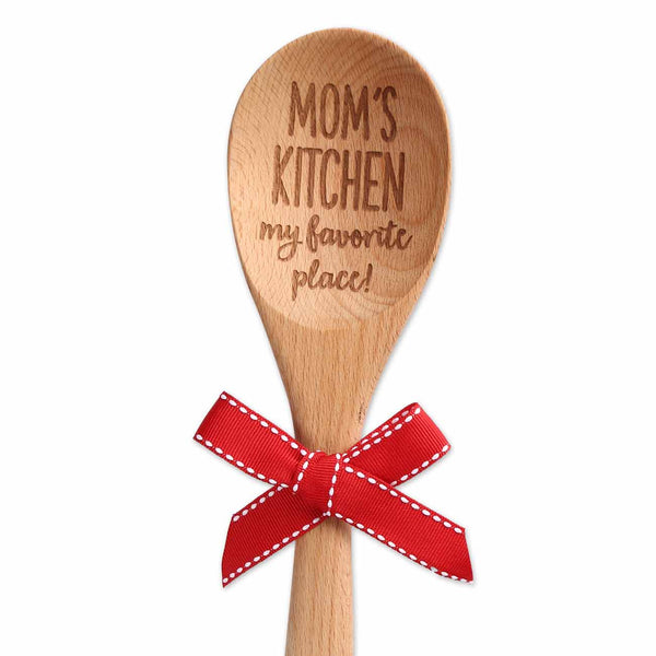 Mom's Kitchen Wooden Spoon