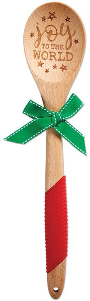 Joy to the World Wooden Spoon