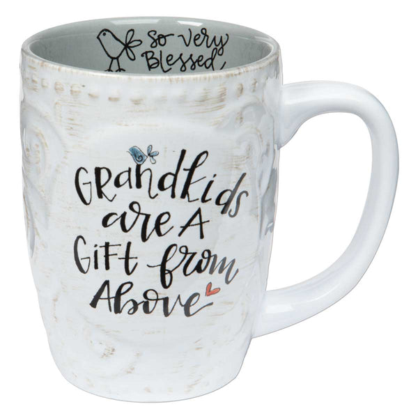 Grandkids Are a Gift from Above Mug