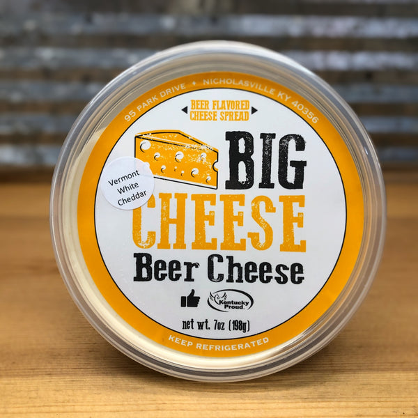 Big Cheese Beer Cheese Vermont White Cheddar