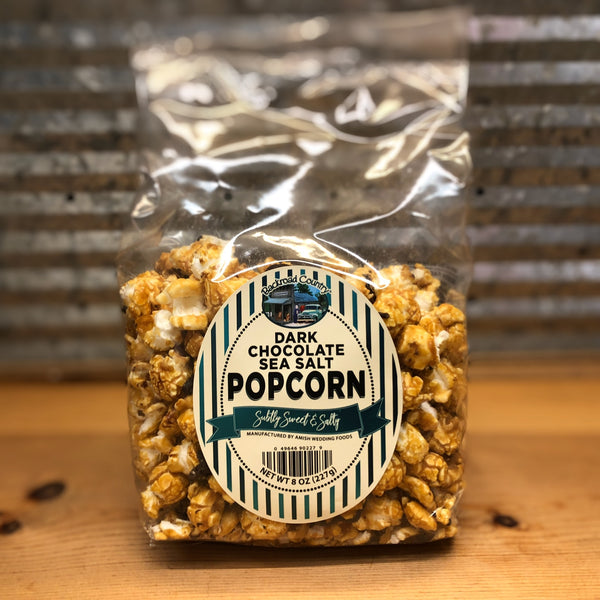 Backroad Country Dark Chocolate Sea Salt Popcorn