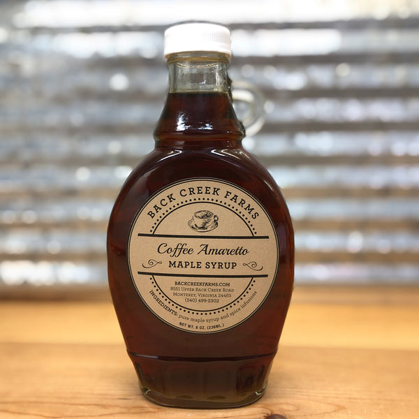 Back Creek Farms Coffee Amaretto Maple Syrup