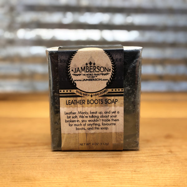 Jamberson Leather Boots Soap