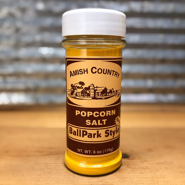 Amish Country Ballpark Style Popcorn Salt