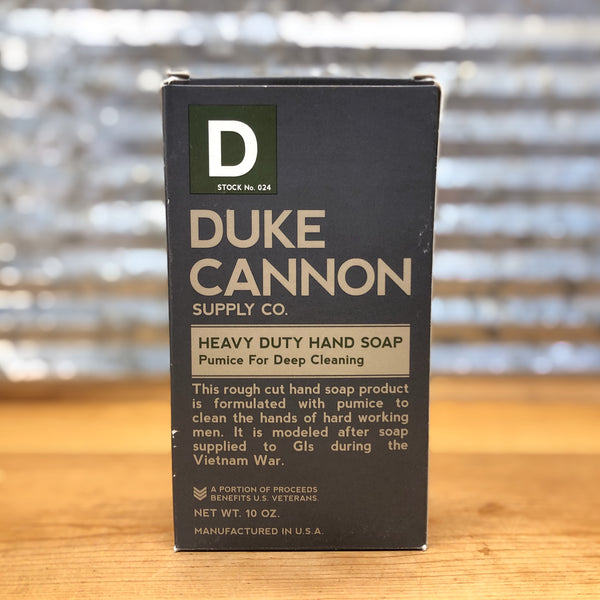 Duke Cannon Heavy Duty With Pumice Hand Soap