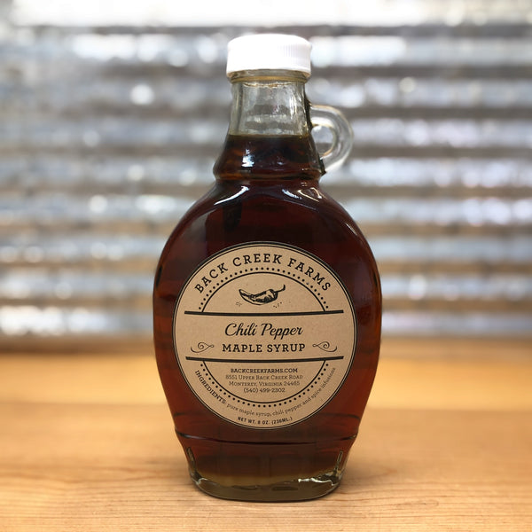 Back Creek Farms Chili Pepper Syrup