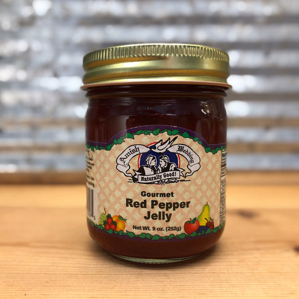 Amish Wedding Gourmet Red Pepper Jelly