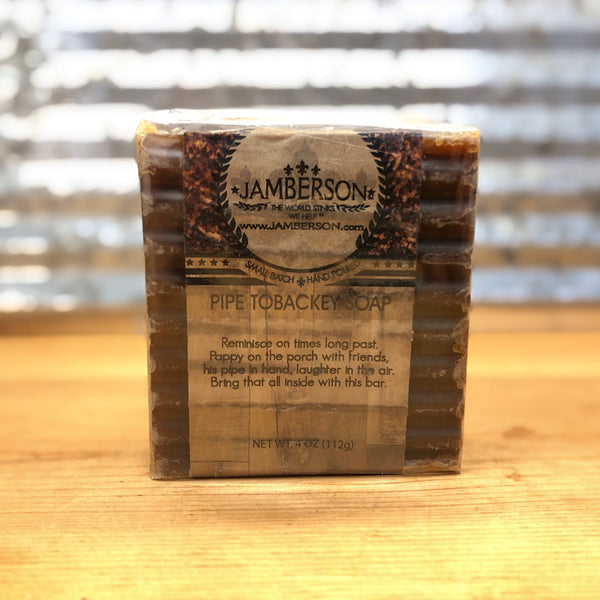 Jamberson Pipe Tobackey Soap