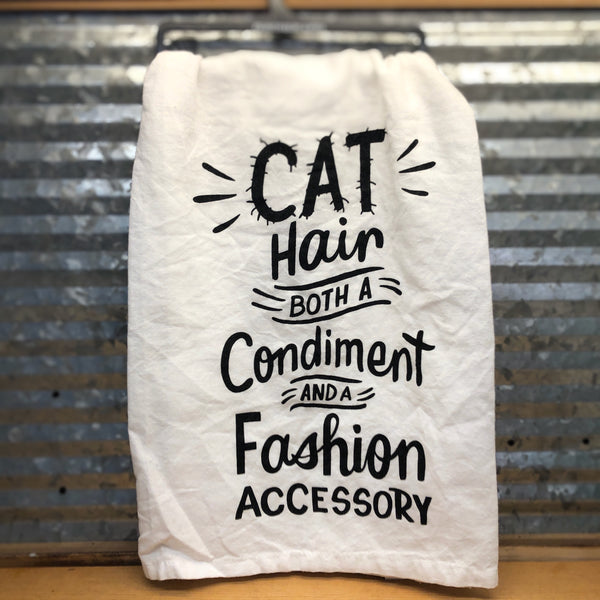 Cat Hair Dish Towel