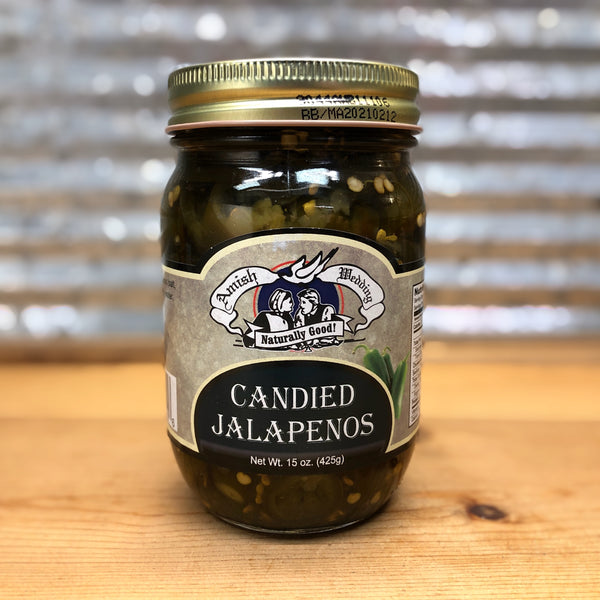 Amish Wedding Pickled Candied Jalapenos