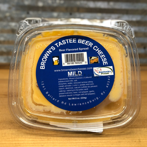 Brown's Tastee Mild Beer Cheese