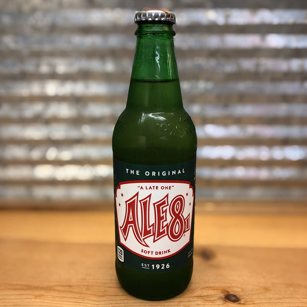 Ale8 Original Soda Glass Bottle