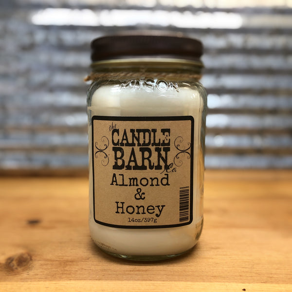 Candle Barn Almond & Honey Candle 14oz
