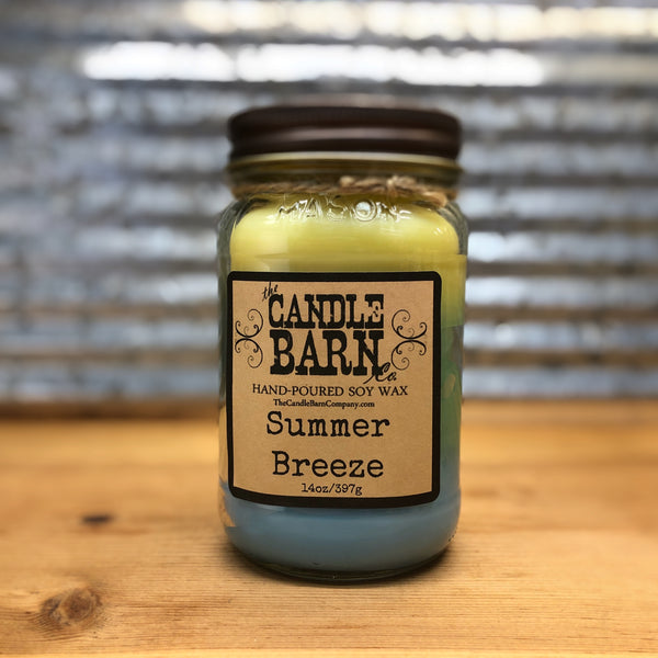 Candle Barn Summer Breeze Candle 14oz