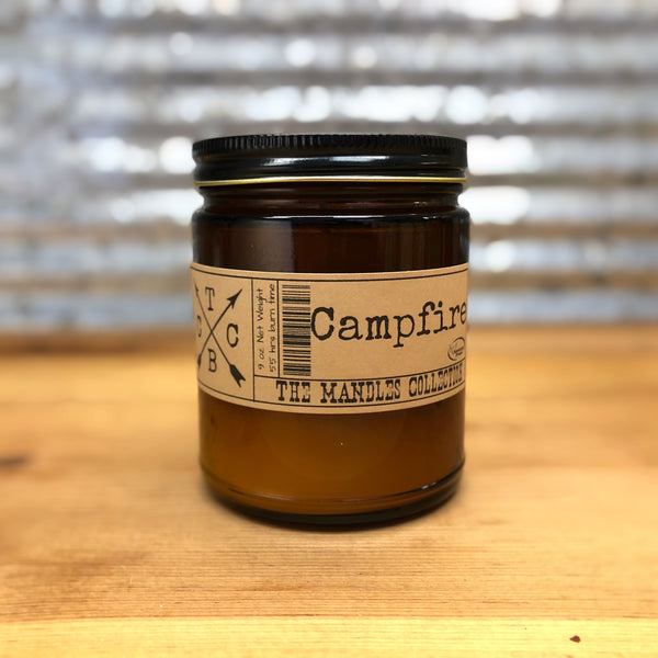Candle Barn Campfire Mandle Candle 9oz
