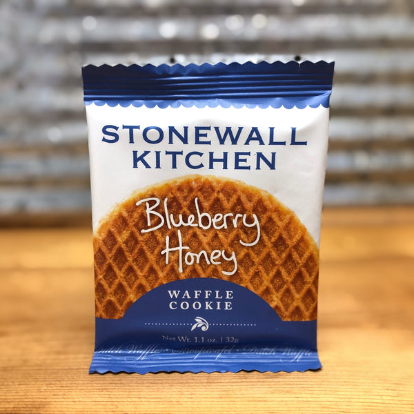 Stonewall Kitchen Blueberry Honey Waffle Cookie